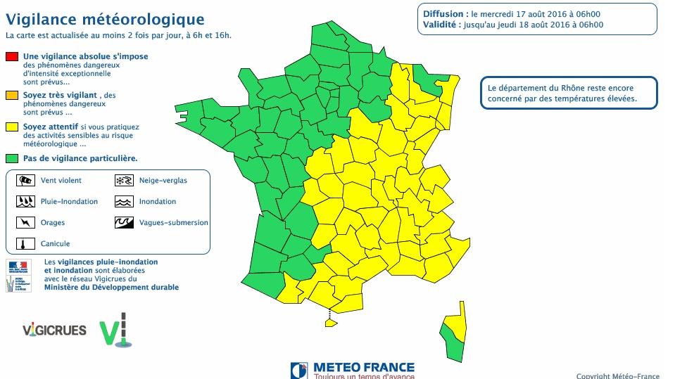 Orages. la Haute Garonne reste en alerte météo