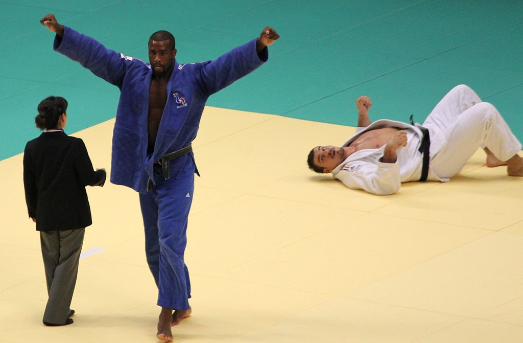 Teddy Riner champion Olympique de Judo