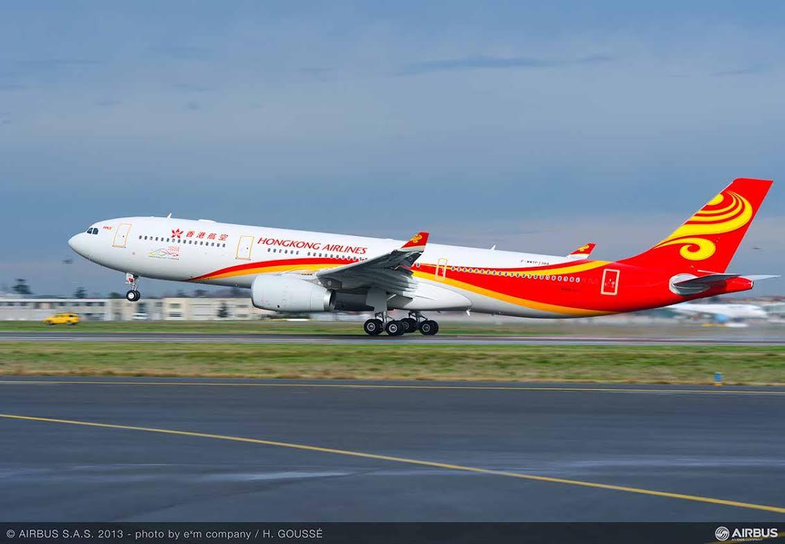 Hong Kong Airlines confirme une commande de 9 Airbus A330 supplémentaires