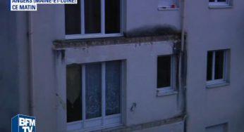 Angers – enquête ouverte après l'effondrement d'un balcon qui a coûté la vie à 4 personnes