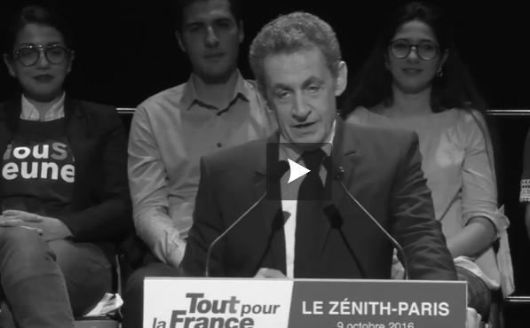 """Sarkozy fustige """"une petite élite pour qui tout va bien"""""""
