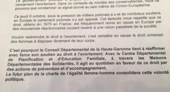 Toulouse – le droit à l'avortement provoque encore des réticences chez certains élus
