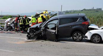 1 mort et 2 blessés graves dans un carambolage au nord de Toulouse