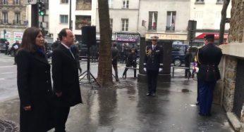 François Hollande rend hommage aux victimes des attentats du 13 novembre