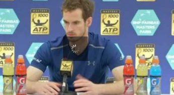 Andy Murray devient numéro 1 mondial après sa victoire à Paris