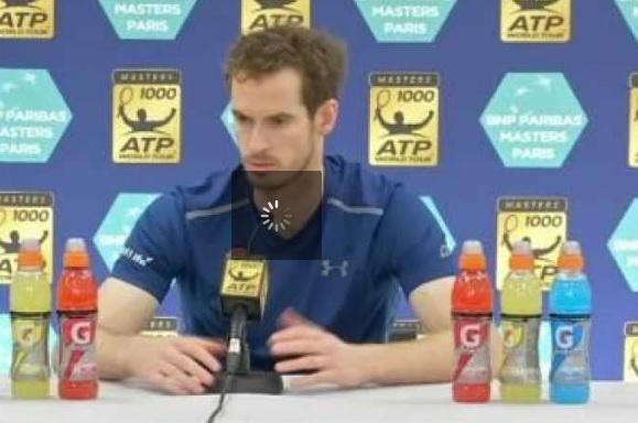 Andy Murray numéro 1 mondial victoire Paris