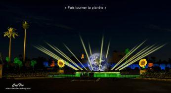 L'artiste Toulousain CozTen illumine le nouveau sommet sur le climat Cop22 à Marrakech