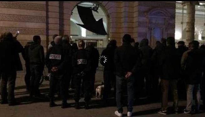 Les policiers en colère ont une nouvelle fois manifesté à Toulouse