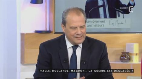 Macron candidat, réactions de Valls, Cambadélis, Fekl et Besancenot