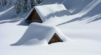 Neige à 600 mètres sur le Tarn, à 1200 mètres sur les Pyrénées