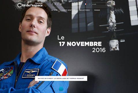 Thomas Pesquet en route pour la Station spatiale