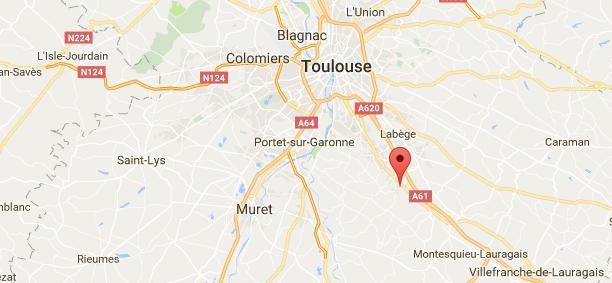 Toulouse - un homme mort percuté par un bus sur l'A61