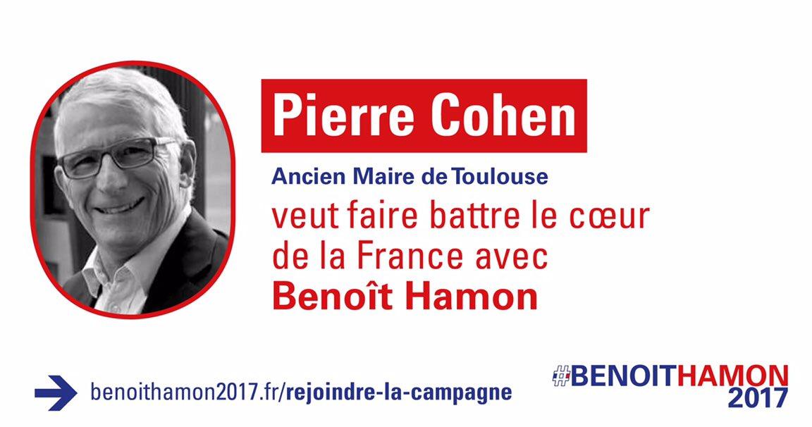 Pierre Cohen Benoit Hamon