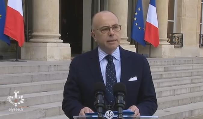 Premier conseil des ministres pour le Premier ministre Bernard Cazeneuve