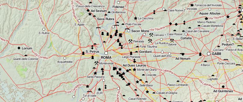 Rome Roma Google Map
