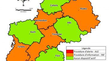 Alerte pollution étendue aux Hautes Pyrénées