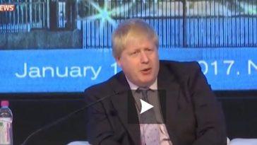 Boris Johnson compare François Hollande à un gardien issu d'un film sur la Seconde Guerre mondiale