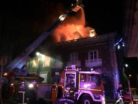 Boulogne sur Gesse. 1 mort dans l'incendie d'une maison