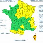 Fortes Pluies Inondations. la Corse reste placée en alerte météo vigilance orange