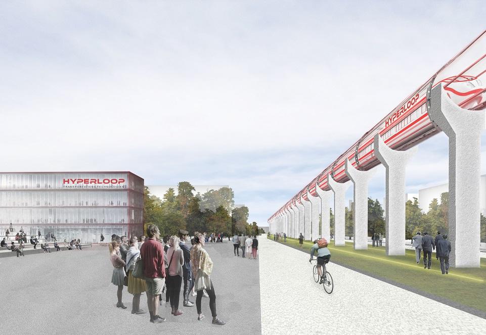 L'Américain Hyperloop, train du futur s'installe à Toulouse Francazal