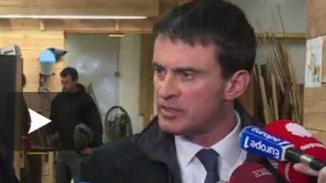 L'homme qui a giflé Manuel Valls condamné