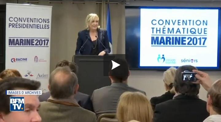 Marine Le Pen campagne présidentielle 2017