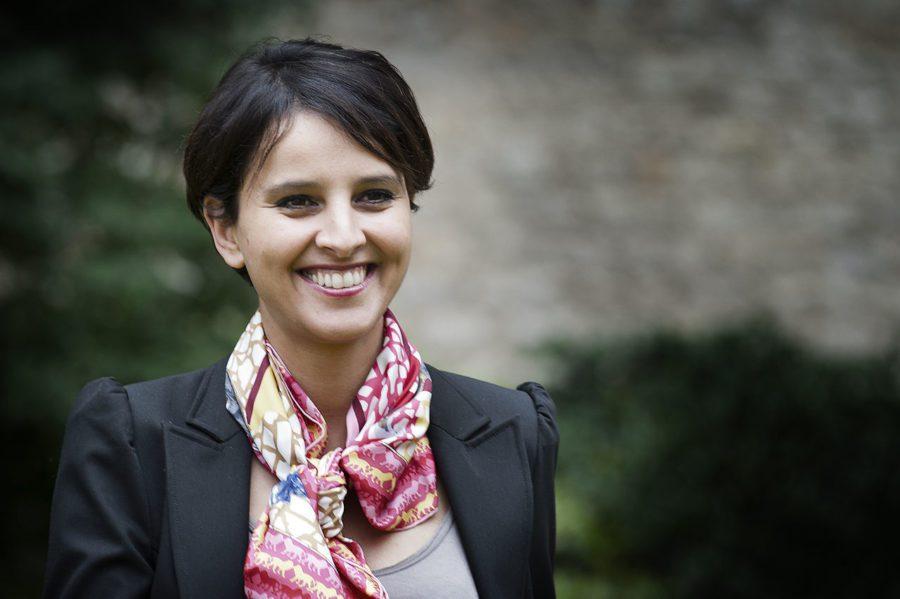 Najat Vallaud Belkacem à Toulouse pour assister à un cours d'Occitan