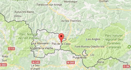 Neige et avalanche. l'accès à l'Andorre reste fermé ce lundi