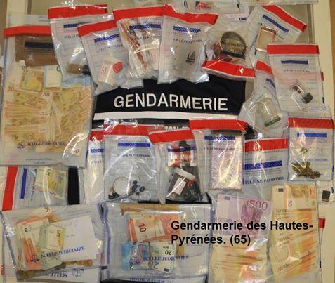 Heroine Cocaine cannabis un vaste réseau de drogue démantelé à Cauterets
