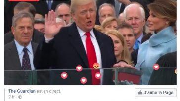 Trump investi président prononce un discours inquiétant et infamant pour ses prédécesseurs