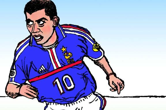 Un match France 98 avec Zidane-Stade Toulousain à Toulouse pour les enfants malades