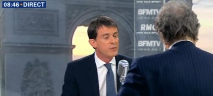 Valls. dimanche c'est un référendum