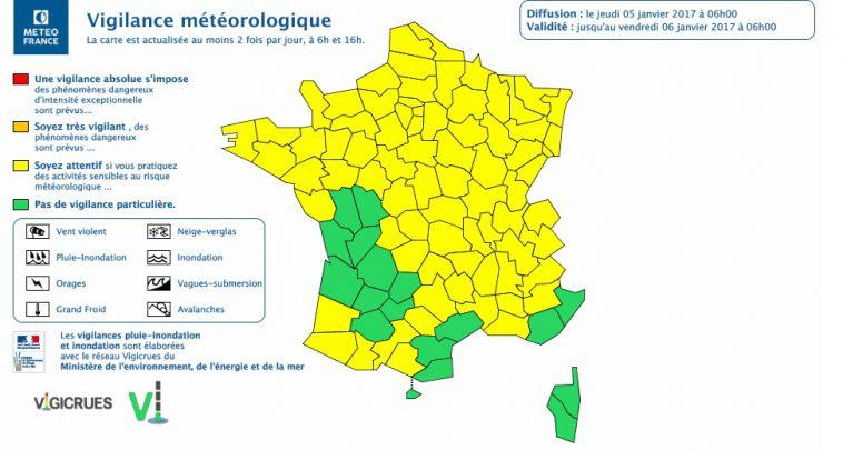 Verglas sur les routes. Toulouse et la Haute Garonne en alerte météo vigilance jaune