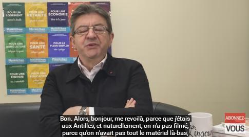 YouTube. Jean-Luc Mélenchon franchit le cap des 150.000 abonnés