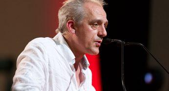 Philippe Poutou en meeting à Toulouse vendredi