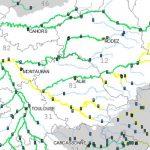 Routes Inondées dans le Tarn. la situation mercredi
