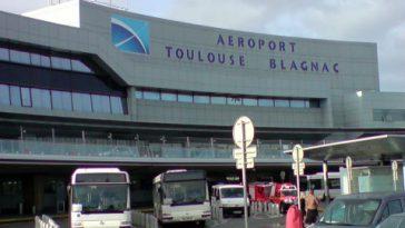 Très forte du trafic à l'aéroport de Toulouse Blagnac