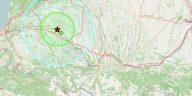Tremblement de terre épicentre Orthez