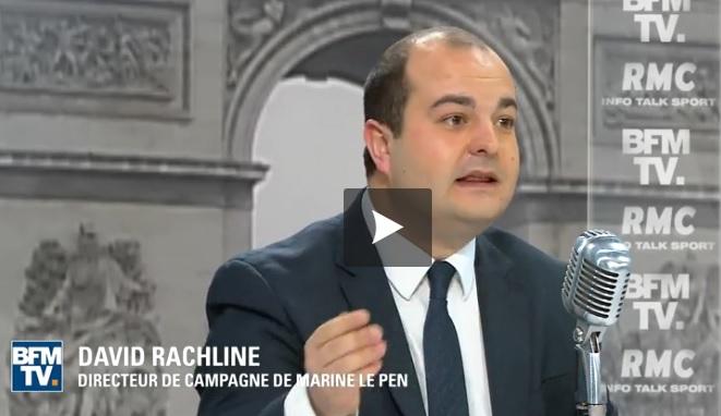 Emplois fictifs au FN. Racheline défend Le Pen