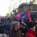 Hospitaliers, cheminots, profs ou étudiants ont manifesté à Toulouse
