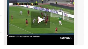 Lyon perd à Rome mais se qualifie pour les quarts de l'Europa league