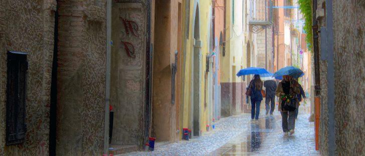 Météo Toulouse. pluie, vent et pluie