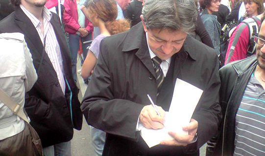 Jean-Luc Mélenchon annonce disposer des 500 parrainages — Présidentielle