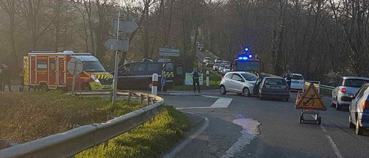Un blessé dans un accident de la route à Pibrac dans l'ouest de Toulouse