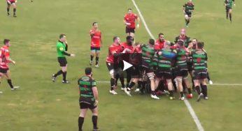 Vidéo – Nice le match de rugby dégénère en bagarre générale