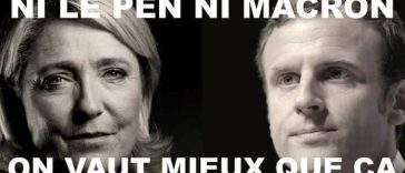 à Toulouse ils ont aussi manifesté contre Macron et Le Pen