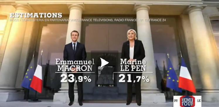 Duel Macron Le Pen au second tour de l'élection présidentielle