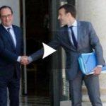 François Hollande va voter Emmanuel Macron