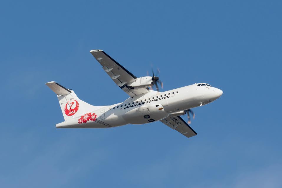 Japan Air Commuter réalise son premier vol en ATR
