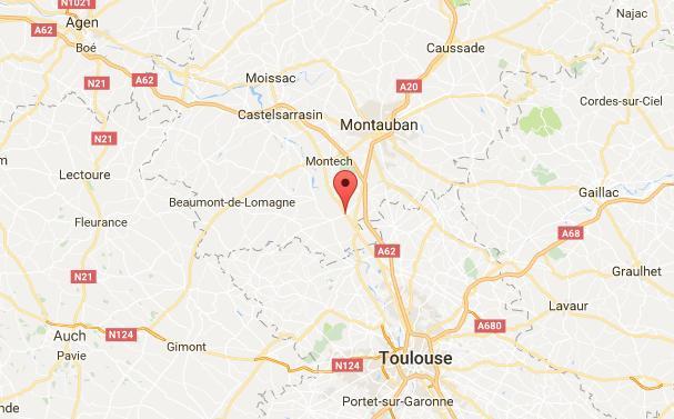 Toulouse Montauban. un homme se suicide sous un train